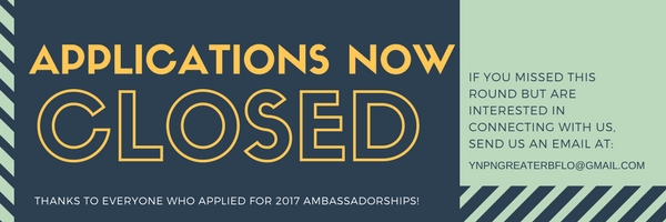 Ambassador applications closed graphic